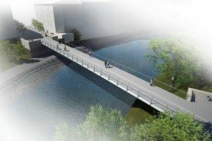 Komenského most v Jaroměři