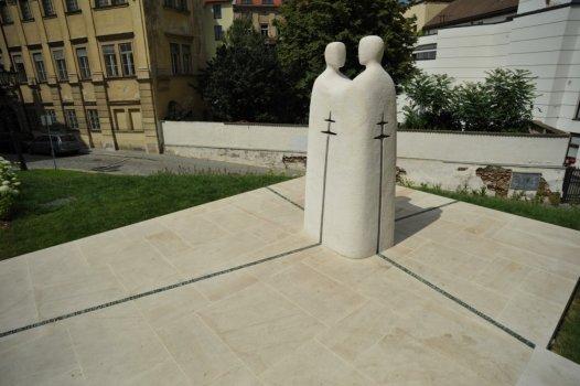 Památník sv. Cyrila a Metoděje v Brně na Petrově