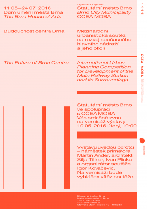 Budoucnost centra Brna - výstava návrhů